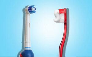 Lee más sobre el artículo 🦷  Cepillo de dientes ¿eléctrico o manual?