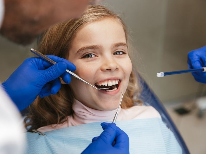 empastes dentales para niños Clinica dental Teresa Ortega